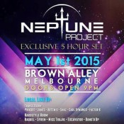 Neptune Project - Live @ Trancegression, Melbourne [01-May-15]